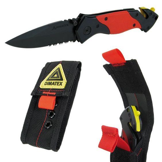 Dimatex Rescue (avec étui) - Couteaux pliants - Equipement de survie http://www.equipement-de-survie.fr/produit/couteaux/couteaux-pliants/dimatex-rescue-etui