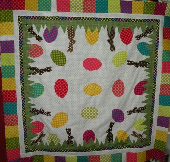 Easter quilt