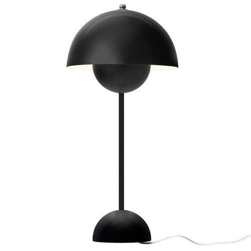 Tradition Flowerpot Vp3 Table Lamp Matt Black Lamp Table Lamp Lighting Table Lamp
