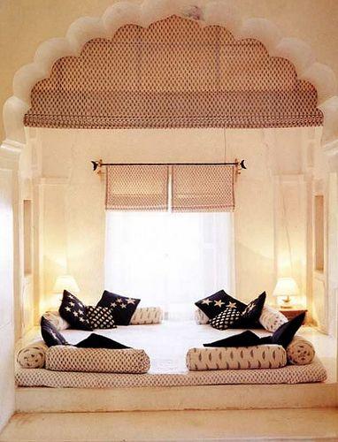 Índia futon