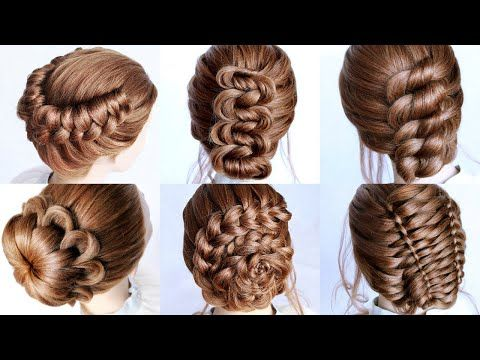 6 Cute Hairstyle Ideas For Short Medium Hair Length By Another Braid Youtube In 2020 Hair Styles Medium Hair Styles Cute Hairstyles