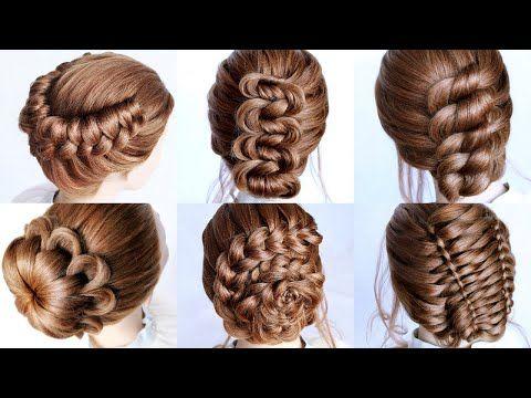 6 Cute Hairstyle Ideas For Short Medium Hair Length By Another Braid Youtube In 2020 Hair Styles Medium Hair Styles Cute Hairstyles