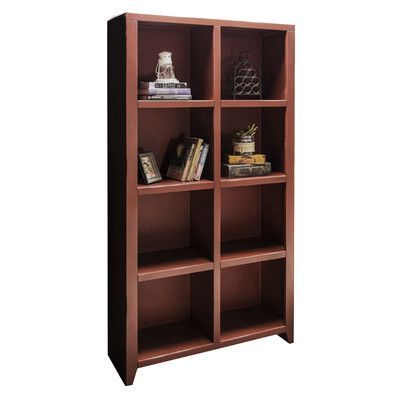 """August Grove Bess 76"""" Cube Unit Bookcase Finish:"""
