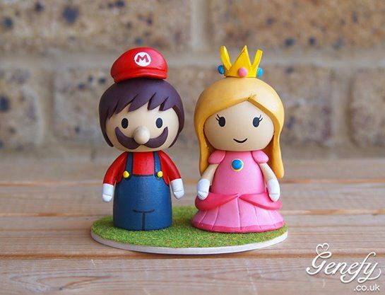 Mario + Princess Peach by GenefyPlayground https://www.facebook.com/genefyplayground: