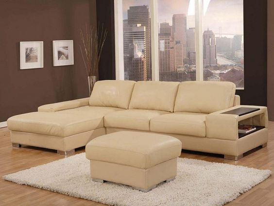 Best Wonderful Leather Sofa Designs In Beige Color Exquisite 400 x 300