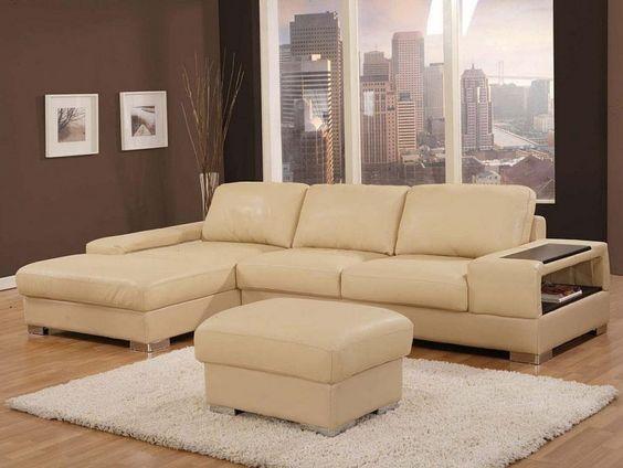 Best Wonderful Leather Sofa Designs In Beige Color Exquisite 640 x 480