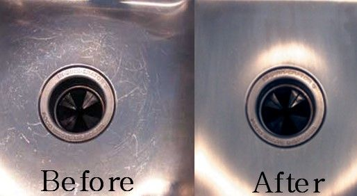 How To Clean Stainless Steel Sink Scratches Clean Stainless