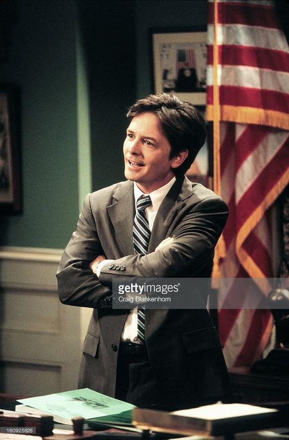 Jan. 12, 2000. Michael J. Fox in Spin City. FOX