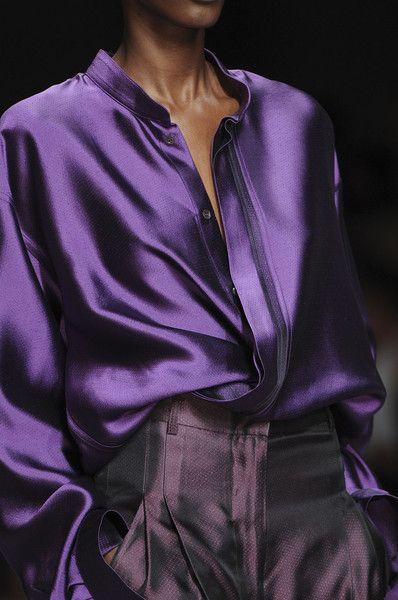 silky violet...