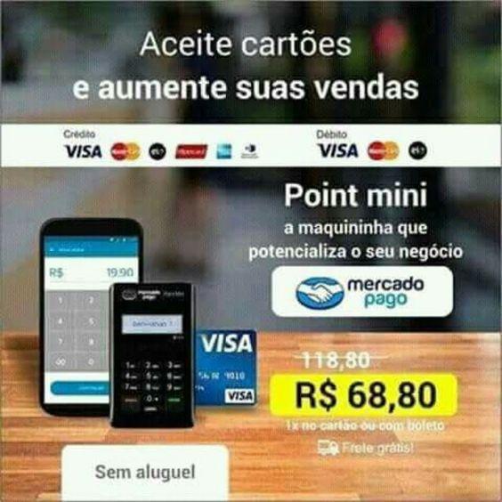Point Mini Maquina De Cartao De Credito Carta Mini Mercado