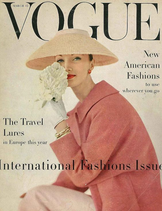 Evelyn Tripp, March Vogue 1956