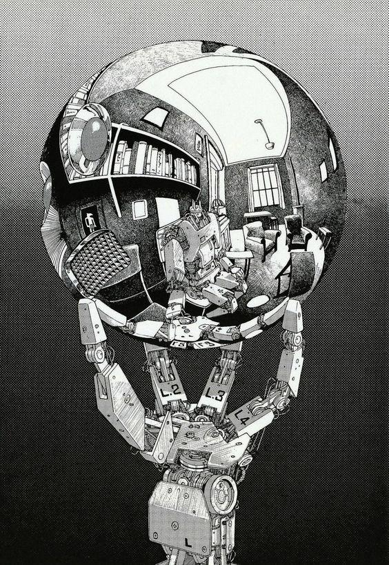 cyberpunkvisions:Self Aware - Otomo