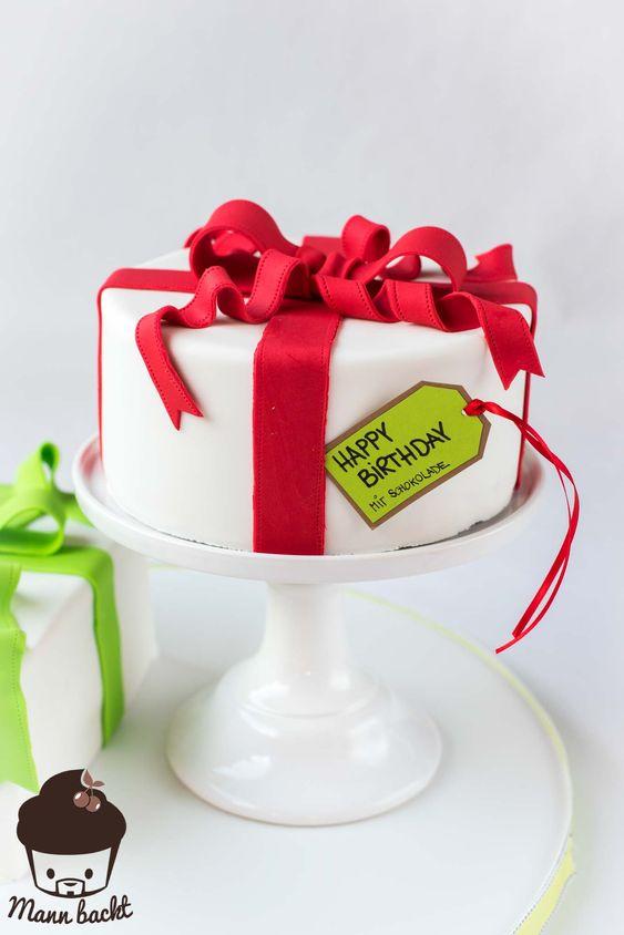 Gift Cake for Birthday