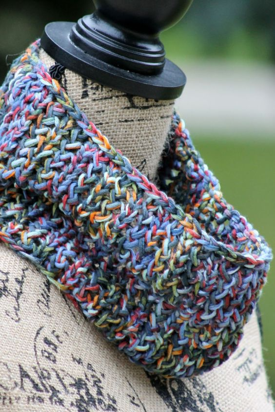 Cowl Knitting Pattern One Skein : Knit cowl, The ojays and The wall on Pinterest