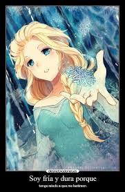 Resultado de imagem para frozen anime