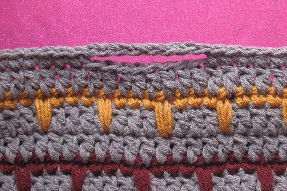 Padrão Crochet Free: Spikes Cesta do fio