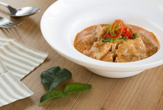Curry panang , curry rojo, curry tailandes, cocina tailandesa