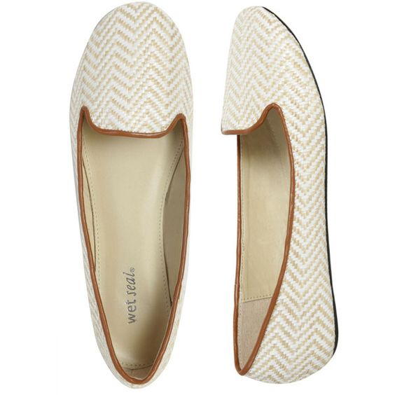 Love this chevron loafer!