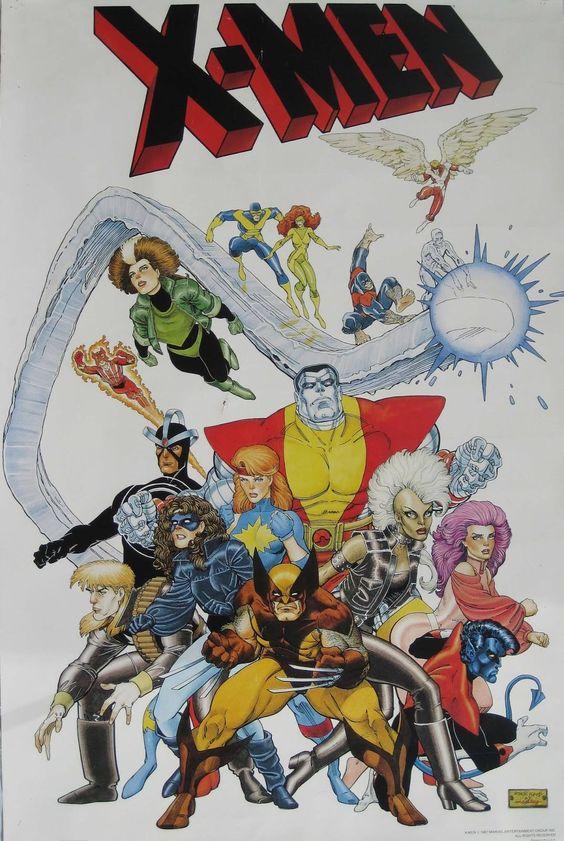 Storm Xmen 80s