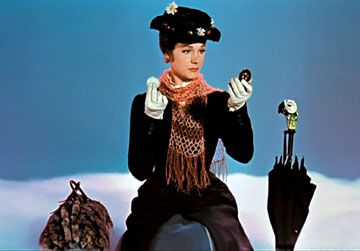 Mary Poppins - looks like a crochet scarf in this shot