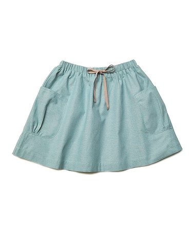 Another great find on #zulily! Blue Fern Spring Skirt - Toddler & Girls #zulilyfinds