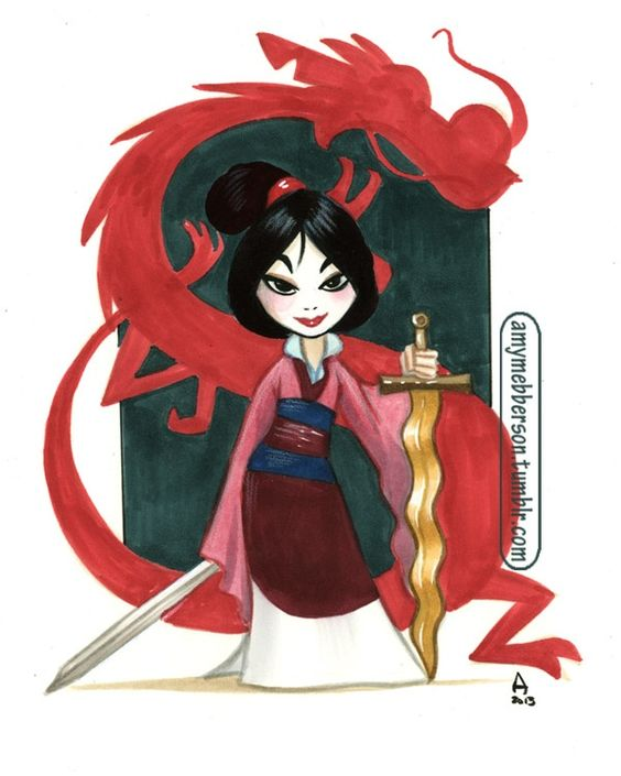 Mulan by Amy Mebberson:
