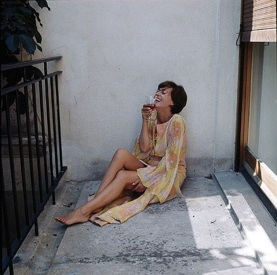 1963 Jeanne Moreau par Milton Greene:
