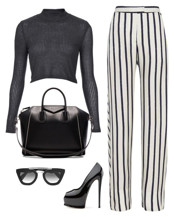 Untitled #303 by sahana-raghu on Polyvore featuring polyvore fashion style Topshop Nicholas Givenchy Prada clothing