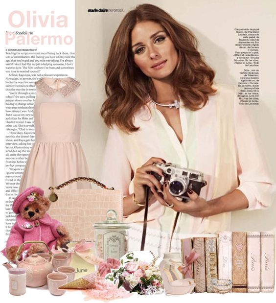 """""""Olivia Palermo"""" by lunasolare ❤ liked on Polyvore"""