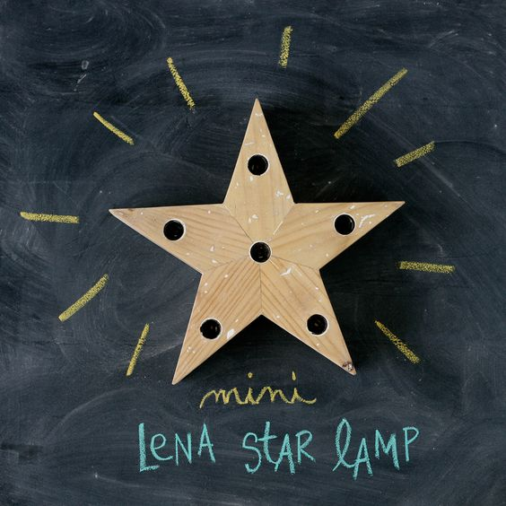 MINI LENA star lamp — xo-inmyroom