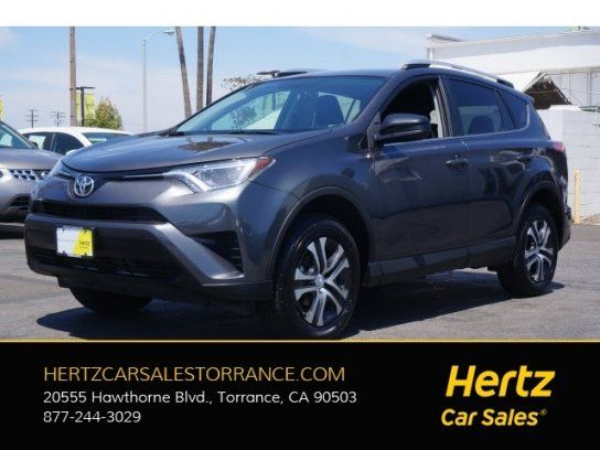 Sport Utility 2016 Toyota Rav4 Awd Le With 4 Door In Torrance Ca 90503 Toyota Rav4 Awd Toyota Toyota Rav4