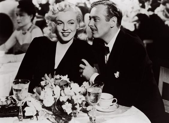 Marilyn Monroe and Rand Brooks in Ladies of the Chorus, 1948.