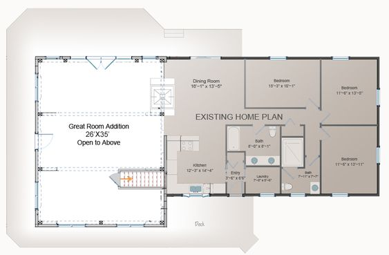 Room Additions Post And Beam And House Additions On Pinterest