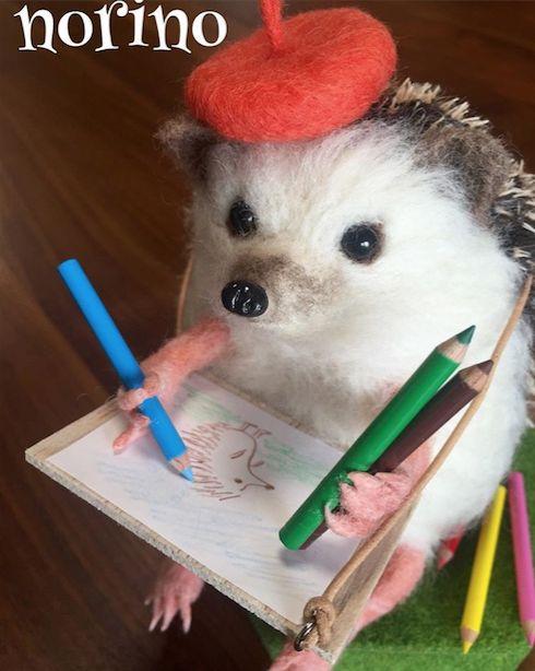 [2016.8.7] Wonder Zoo | Needle Felted Wool Animals Projects Inspiratio | Feltify