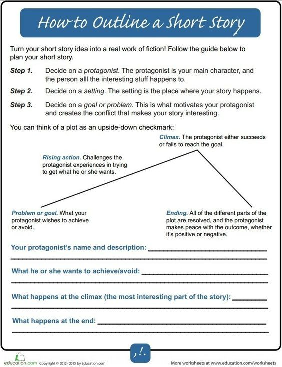 How To Outline A Short Story For Beginners Writers Write Novel Writing Writing Outline Writing Tips
