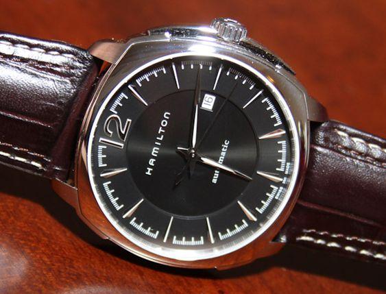 Hamilton Jazzmaster Cushion Watch
