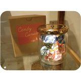 童年的晶透回憶,糖果玻璃罐燈座