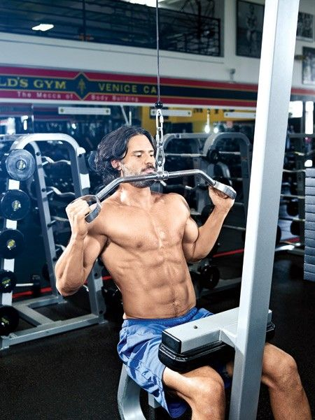 Joe Manganiello Pulldown thumbnail