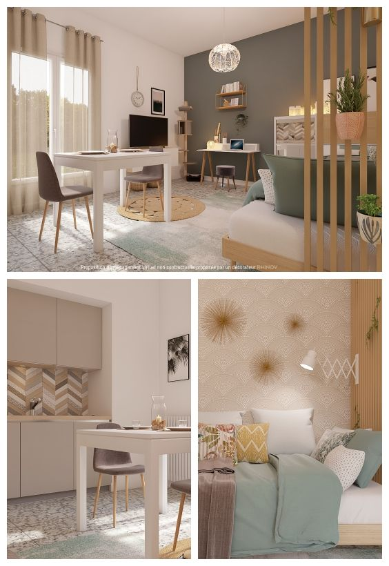 Amenager Un Studio Rhinov Decoration Interieure Amenagement Studio Salon Studio