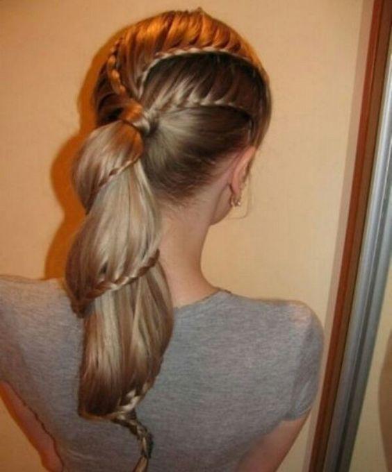 Awesome braid ♡♥♡♥♡★☆★☆★☆