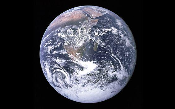 1972年撮影地球