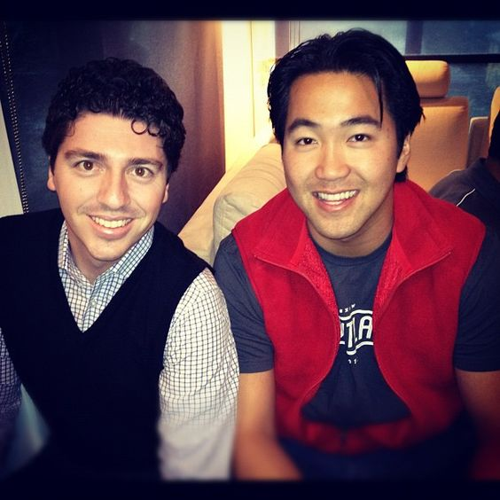 """Hanging out with my BFF way from high school. @patrickacton"" -- via @dghoang"