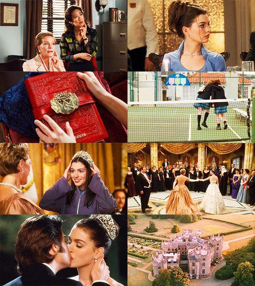 Julie Andrews As Queen Clarisse Renaldi & Anne Hathaway As