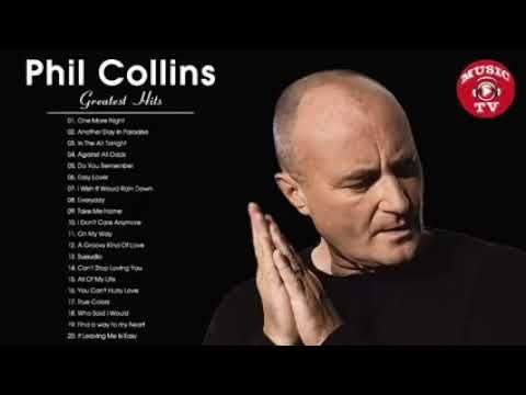 Phil Collins Greatest Hits Best Songs Of Phil Collins Youtube In 2020 With Images Best Songs Phil Collins