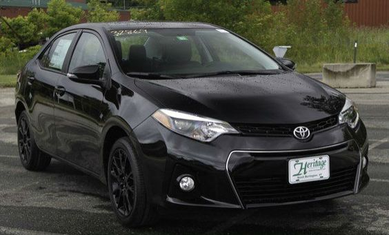 2016 Toyota Corolla S With Special Edition pkg