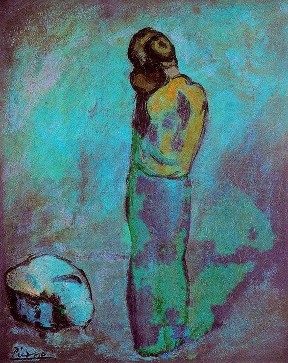 Pablo Picasso Mother and child - 1902                                                                                                                                                     Mais