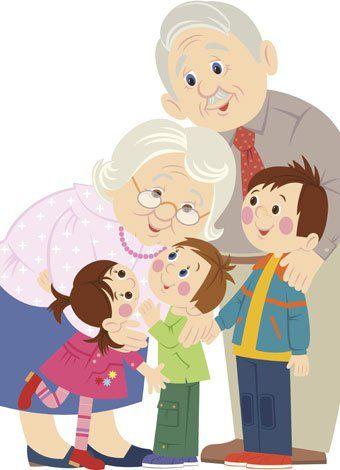 Abuelos y abuelas, poesía para niños