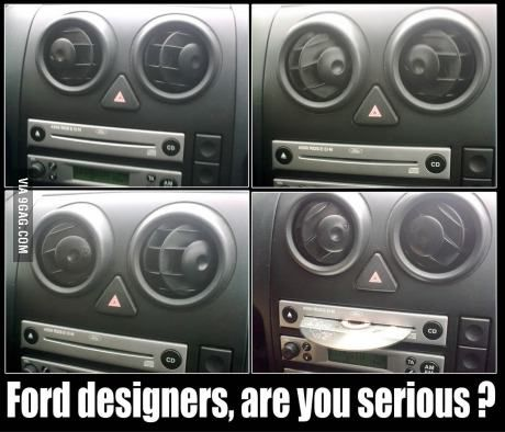 Ford designers…