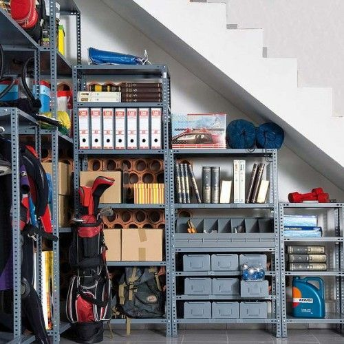 Tool Storage Tucked In Under The Stairs How To Use An Under The