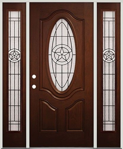 Texas Star Entry Doors And Front Entry On Pinterest